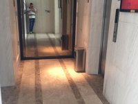Star hill/ PMH, Elevator marble wall cladding and marble floor project
